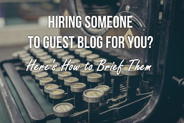 brief guest bloggers