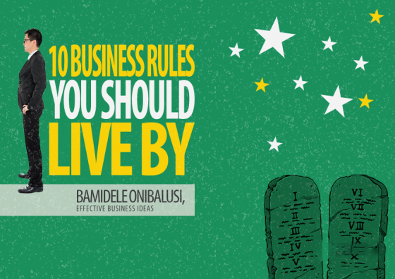 10 Business Rules to Obey eCover