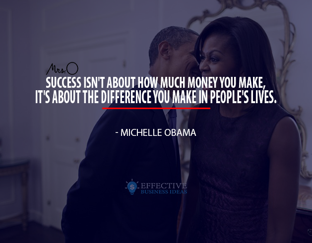 inspirational quote - Michelle Obama
