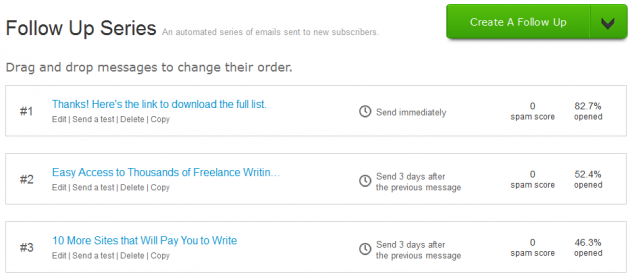 110websitesthatpay email list engagement