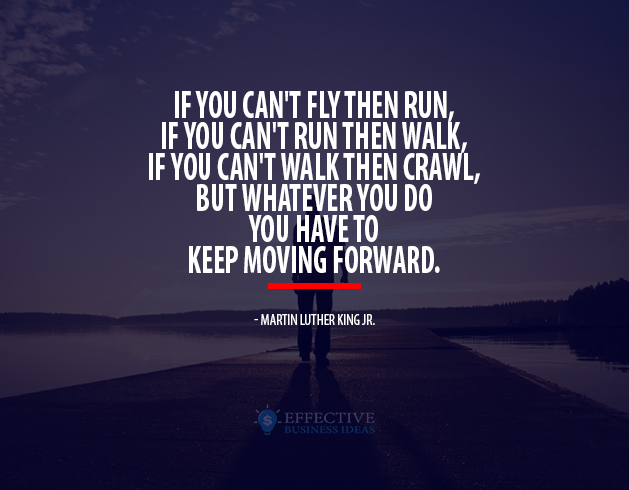 Inspirational quote - Martin Luther King Jr.